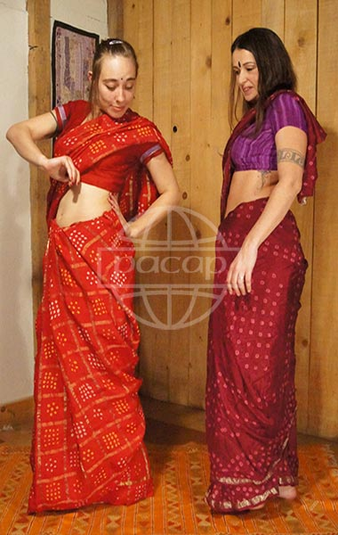 Sari saree Grossiste Français de sari ou saree indien-vendu en lot-PACAP Grossiste