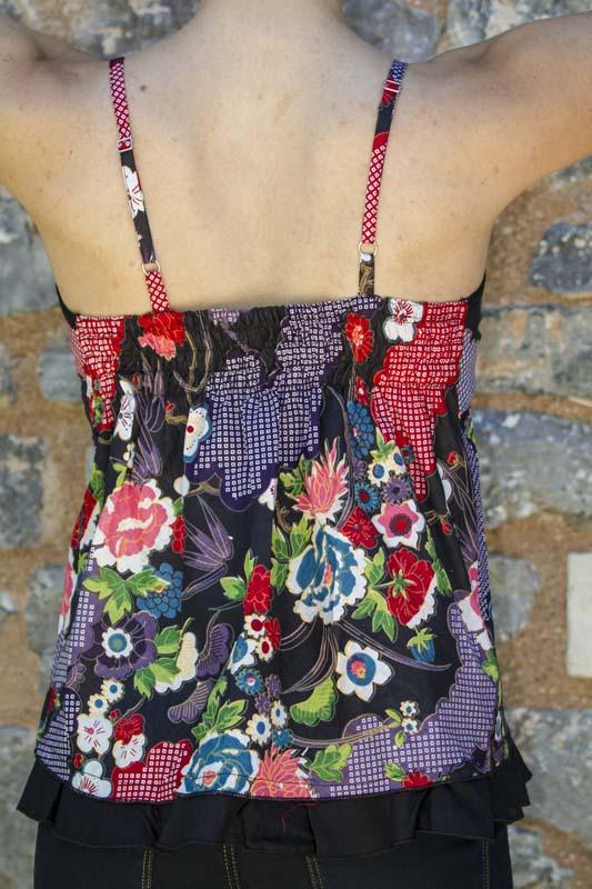 grossiste vetement ethnique chemisier top haut bustier femme jupe reglable ethnique