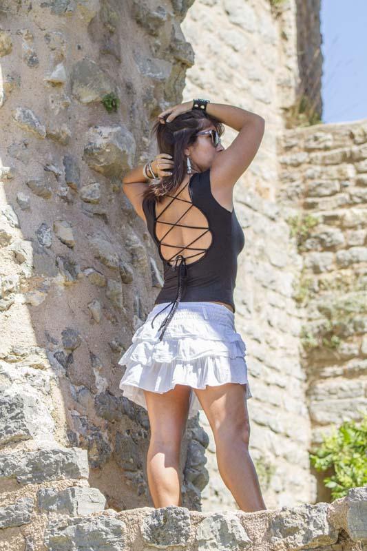 vente en gros revendeur marque francaise grossiste chemisier top haut bustier femme jupe reglable ethnique